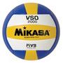 Bola De Vôlei Oficial Mikasa Vso 2000