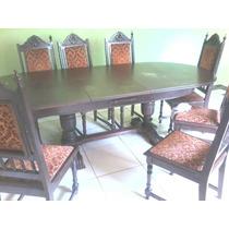 Mesa De Madeira De 8 Cadeiras De Santa Catarina