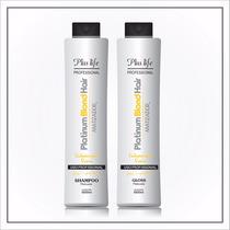 Escova Platinum Blond 2x1l - Frete Grátis