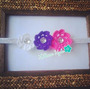 Cintillos Para Niñas (flores Tejidas Crochet)mod: Humboldtii