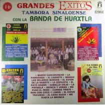Banda De Huaxtla - Tambora Sinaloense Con 16 Exitos Lp