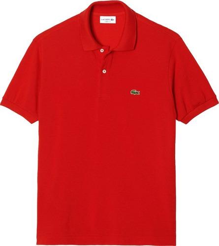 32529b9e0ac Camisa Polo Lacoste Masculina Vermelha Pronta Entrega - R  149