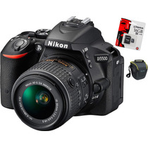 Nikon D5500 Kit 18-55 Memo + Bolso En Stock!!!!!!