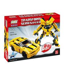 Transformers Series Bumblebee 221 Peças Compatível Com Leg