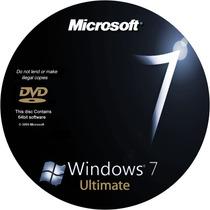 Cd Dvd De Instalação Windows 7 Ultimate Com Serial Original