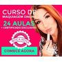 Curso De Maquiagem Online Profissional Boca Rosa Original