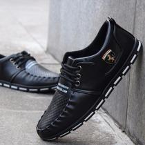 Zapatos Hombre Casual Negro Zapatillas Nuevo