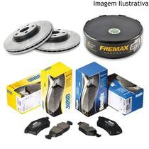 Kit Freio Dianteiro Discos E Pastilhas New Civic 1.8 07/12