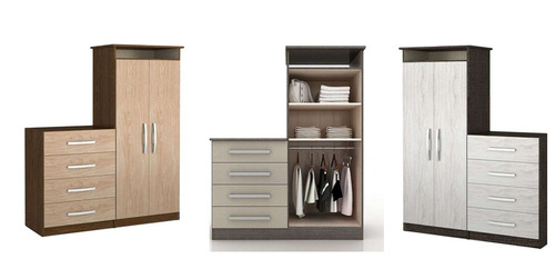 Mueble Tipo Closet  Comoda Cajonera Tubo Y EstantesU$S 216,00
