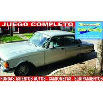 Fundas Asiento Ford Falcon Cuero Ecologico Calidad Premium!!