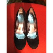 Zapatos Clasicos De Vestir De Gamuza Negros Nine West