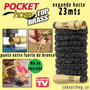 Manguera Expandible Pocket Hose Punta Bronce Original 23mts