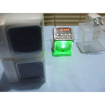 Reproductor Mp3 Radio Lee Pendrive Microsd Portatil Cargador