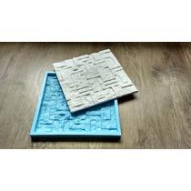 Forma Silicone Mosaico Gesso Canjiquinha Retalhos 30x30 Cm
