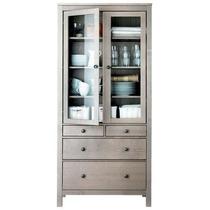 Mueble Tipo Hemnes Ikea Gabinete Puertas De Vidrio