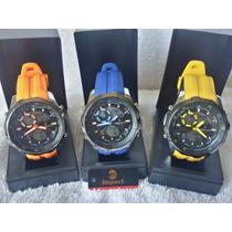 Relógio Masculino Importado Exclusive Impact A Prova D