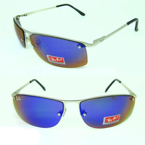 d434fc01de Gafas Ray Ban Hombre 3179 Rectangular Azul 50% Off -   72.000 en ...