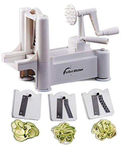 911482cd5 Iperfect Cocina Tri-lámina Vegetal Spiralizer