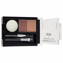 Nyx Eyebrow Cake Powder Kit Duo Sobrancelha Auburn/red Ecp04