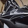 Protetor Adesivo Aba Carenagem Tanque Moto Honda Bros 160