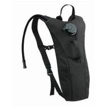 Mochila Bolsa De Hidratación Camel Bag Militar Negra - Ag