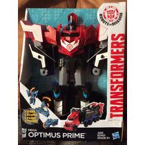 Transformers Optimus Prime 3 Pasos Original Y Nuevo D Hasbro