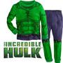 Pijama Niños Hulk Tipo Disfraz + Obsequio