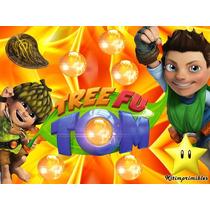 Kit Imprimible Tree Fu Tom, Invitaciones Y Cajitas