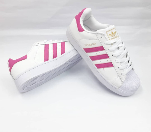 low priced 52bf2 8c7bb zapatos adidas superstar de dama