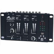 Mixer Dj Gbr Bat 1900 Mp3 Usb 5 Canales Consola Mezclador