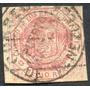 Estampilla Venezuela ½ Real 1876/77 Resello Puerto Cabello