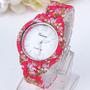 Reloj Floreados - Chic - Floreado - Flores Estampado