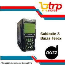 Gabinete Gamer 3 Baias Dazz Usb 3.0 Micro-atx Ferox 62273-5