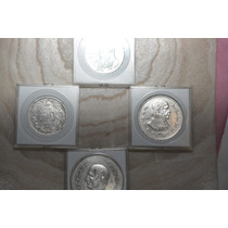 Lote De 10 Capsulas Cuadradas De Monedas 20mm, 25mm, 40mm