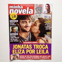 Revista Minha Novela Marcos Caruso Juliana Paiva Ano2016