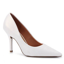 Sapato Scarpin Feminino Vizzano - Branco