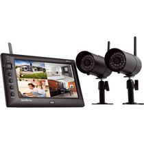 Kit Camera Monitoramento Sem Fio Intelbras