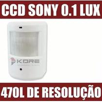 Camera Camuflada Espia Sensor De Presença Ccd Sony