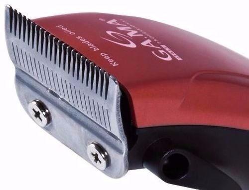 Maquina Cortar Cabelo Gama Italy Gm 590 Red New 220v - R  138 b8a5e6dafee8