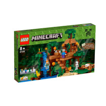 Lego Minecraft 21125 La Casa Del Árbol La Jungla Confidentia