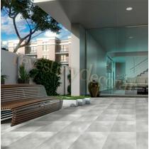Ceramica Piso Simil Cemento Alisado Gris 35x35 1º Calidad