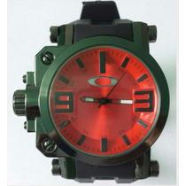 Relogio De Pulso Masculino Oakley Gearbox Titanium Oferta