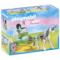 Set Playmobil Carruaje Unicornio Hada Colección Fairies