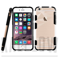 Funda Iphone Transparente Borde Goma Iphone 6 6s Plus