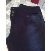 Jeans Chupin Elastizados Cintura Alta T 52 A 56 $ 850