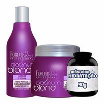 Kitplatinum Blondmatizador Shampoo E Máscara Forever Liss