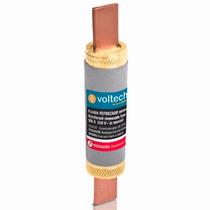10 Fusibles 100 A Industrial Fibra Vulcanizada Voltech 47282