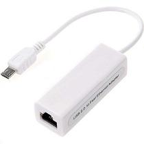 Seafon Cvv8rj45 Adaptador Ethernet Micro Usb Tablet Cel