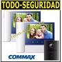 Kit Portero Visor Commax Lcd 7 Con 2 Visor Visores Cdv70n