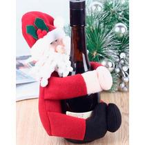 Porta Botella Navidad Regalo Decorativo Vino Santa Claus
